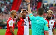 Nach Videobeweis wurde beim Duell Feyenoord Rotterdam - Vitesse Arnheim ein Tor zurückgenommen und dafür ein Elfmeter gegeben
