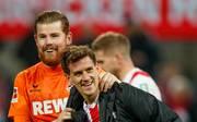 Timo Horn (l.) hat seinen Vertrag in Köln verlängert