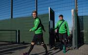 Borussia Moenchengladbach - Training & Press Conference