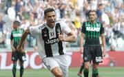 Cristiano Ronaldo von Juventus hat gegen Sassuolo seine Torflaute beendet