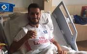 Emir Spahic schmeckt nach der Verletzung der Kaffee schon wieder, twitterte der HSV