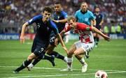 Benjamin Pavard gegen Kroatien