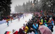 In Oberhof herrscht bei Weltcuprennen stets eine phantastische Atmosphäre