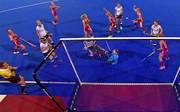 Die deutschen Hockey-Frauen blieben gegen England chancenlos