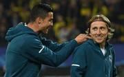 Luka Modric landete bei der Wahl zu Europas Fußballer des Jahres vor Cristiano Ronaldo