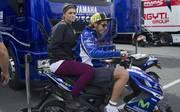 Valentino Rossi Ex-Freundin Linda Morselli