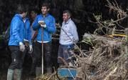 Hier hilft Tennis-Star Rafael Nadal nach der Flut-Katastrophe auf Mallorca