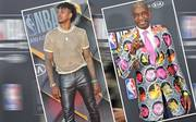 Nick Young und Dikembe Mutombo bei den NBA-Awards