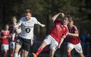 Nicklas Bendtner (l.) kickt für den norwegischen Spitzenklub Rosenborg Trondheim