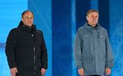 IBU-Vizepräsident James E. Carrabre (l.) war gegen das Biathlon-Saisonfinale in Russland