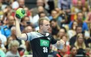 Julius Kühn ist der wurfgewaltigste Spieler im deutschen Team