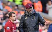 Jürgen Klopp berief Xherdan Shaqiri (l.) nicht in den Kader des FC Liverpool für die Partie in Belgrad