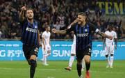 Serie A: Inter Mailand schlägt AC Florenz 2:1 - Mauro Icardi glänzt