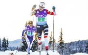 Therese Johaug setzte ihre Siegesserie in Davos fort