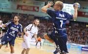 Anders Eggert will mit Flensburg zum siebten Mal in Folge ins Final Four des DHB-Pokal einziehen