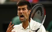 Novak Djokovic kämpft in Wimbledon um den Finaleinzug