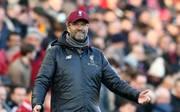 Jürgen Klopp ist mit dem FC Liverpool in der Liga noch ungeschlagen