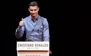 "Cristiano Ronaldo bekam am Montagabend den Legendenpreis der ""Marca"" verliehen"