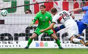 Holger Badstuber trifft per Kopfball für den VfB Stuttgart gegen FSV Mainz 05