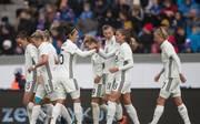 Svenja Huth schnürte gegen Island einen Doppelpack