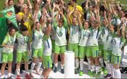 Der VfL Wolfsburg hat in dieser Saison das Double gewonnen