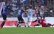 Inter besiegt Lazio