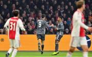 Robert Lewandowski traf doppelt gegen Ajax Amsterdam