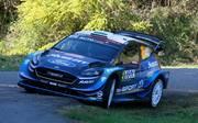 Elfyn Evans greift bei der Rallye Korsika nach seinem zweiten WRC-Sieg