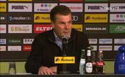 Bundesliga: Trainer Dieter Hecking ist begeistert von Gladbach