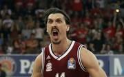Nihad Djedovic feierte mit Bayerns Basketballer im vergangenen Jahr die Meisterschaft