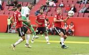 Im bayerischen Derby zwischen dem FC Ingolstadt (rot) und Greuther Fürth gab es keinen Sieger