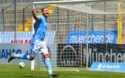 Sascha Mölders bekäme es mit 1860 München in den Aufstiegs-Playoffs zur 3. Liga mit Saarbrücken zu tun
