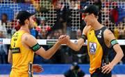 Julius Thole (r.) und Clemens Wickler stehen sensationell im WM-Finale