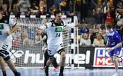 Patrick Groetzki gewann mit Deutschland das erste Hauptrunden-Spiel bei der Handball-WM gegen Island