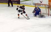 Die deutsche Eishockey-Nationalmannschaft besiegt Südkorea mit 4:3