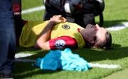 Frankfurts Alexander Meier wurde zum dritten Mal am Fuß operiert