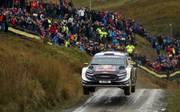 Sebastien Ogier war bei der Rallye Wales nicht zu schlagen