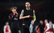 Der AC Mailand um Kapitän Leonardo Bonucci ist im Europapokal nur Zuschauer