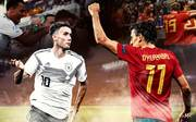 Deutschland gegen Spanien im Head-to-Head