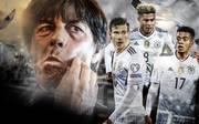 Länderspiel DFB Italien - Deutschland Joachim Löw Leon Goretzka Serge Gnabry Benjamin Henrichs