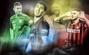 Für einige Top-Klubs wie den FC Bayern (Robert Lewandowski, l.) und den FC Barcelona (Luis Suarez, M.) lief es in der heimischen Liga zuletzt nicht so gut wie gewohnt