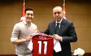 Mesut Özil und Recep Tayyip Erdogan kennen sich bereits seit längerem