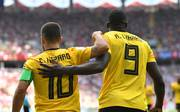 Eden Hazard und Romelu Lukaku stehen in der Startelf