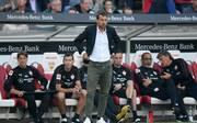 Markus Weinzierl erlebte gegen Borussia Dortmund ein schlimmes Debüt beim VfB Stuttgart