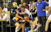 Handball All Star Game: Uwe Gensheimer und Florian Kehrmann