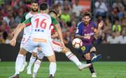 Lionel Messi leitete mit seinem Tor den Sieg des FC Barcelona ein