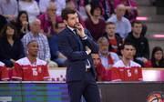 Basketball, BBL: Sperre für Trainer Federico Perego von Brose Bamberg , Bamberg-Coach Federico Perego wurde für ein Spiel gesperrt