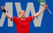 Matthias Bachinger feierte den erstmaligen Einzug in ein ATP-Finale