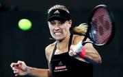 Tennis in Sydney: Angelique Kerber besiegt Camila Giorgi , Angelique Kerber steht nach einem Sieg über Camila Giorgi im Viertelfinale von Sydney