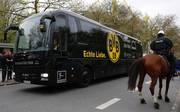 Auf den Bus von Borussia Dortmund wurde am 12. April ein Anschlag verübt